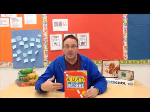 Board Game Teacher:  Word on the Street