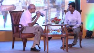 Subroto Bagchi in conversation with Padma Shri Sudarsan Pattnaik at Skilled Odisha programme