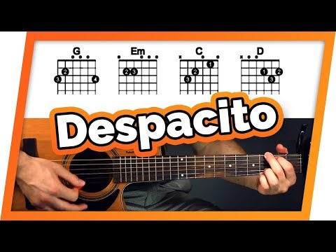 Despacito Guitar Tutorial (Luis Fonsi Ft. Daddy Yankee & Justin Bieber) Easy Chords Guitar Lesson Mp3