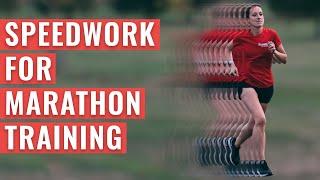 Speedwork For MARATHON Training