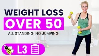 Weight Loss Workout – Women Over 50 Total Body 35-minute Strengthening