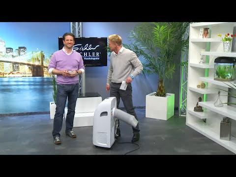 Sichler Hocheffektive mobile Monoblock-Klimaanlage bei PEARL TV