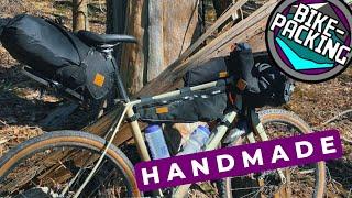 Restrap Bikepacking Taschen | Handmade in England | MTBTravelGirl