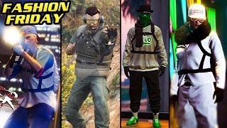 GTA Online: FASHION FRIDAY! 30+ OUTFITS! (Silver Ghost, Patriot Runner, RnG & MORE)