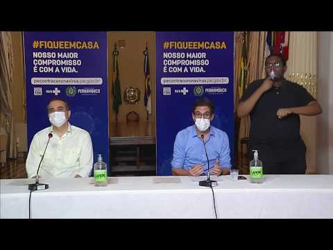 Governo de Pernambuco cria plano para retomar atividades em 11 semanas, mas não anuncia datas