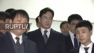 South Korea: Samsung heir arrested on bribery and corruption charges