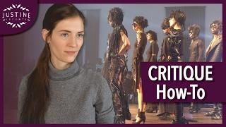 How to review / critique a fashion show? | Justine Leconte