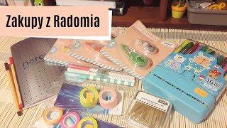 Zakupy z Radomia, czyli pisaki, notatnik Narcissus, taśmy washi i inne HD