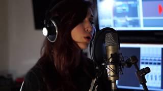 Beatrice Bini records vocals on 'Astra'