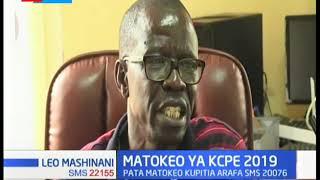 Fridah Wafula aibuka mwanafunzi bora katika Kaunti ya Trans Nzoia alipata alama 434