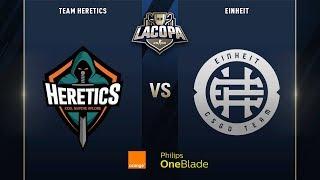 Team Heretics VS EINHEIT | Semifinales | La Copa 2019 - Playoffs