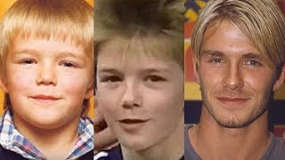 David Beckham Transformation From 5 To 41 Years Old