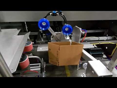Formadora 2-EZ SB para cajas pequeñas a una velocidad de 17 CPM
