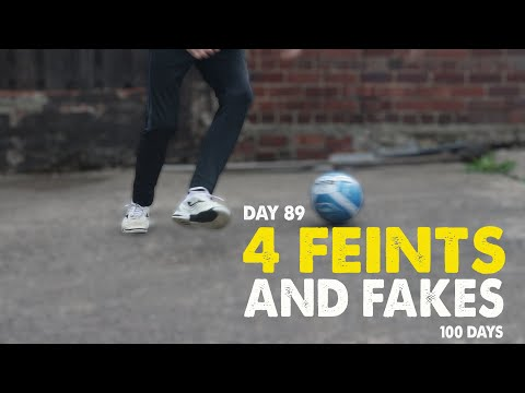4 FEINTS AND FAKES | 100 DAYS | Day 89