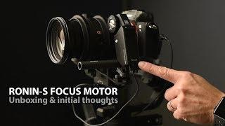 Ronin-S Focus Motor Review