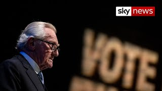 'It's pie in the sky' - Lord Heseltine abandons Remain fight