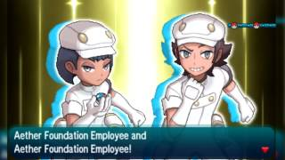 Pokemon Sun and Moon - Aether Foundation Battle (HGSS Soundfont)