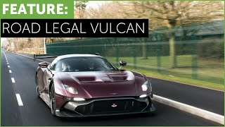 ONLY Road Legal Aston Martin Vulcan in the world