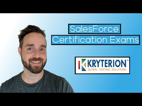 Salesforce Certification Exam - HOW TO SIGN UP - YouTube