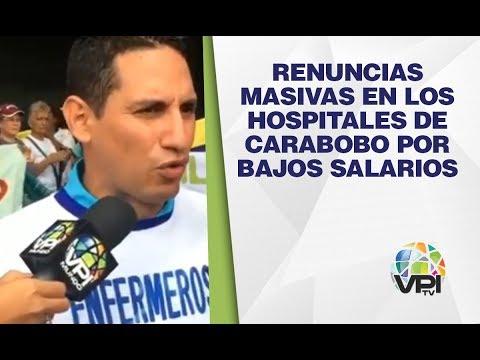 Carabobo - Renuncias masivas en los hospitales de Carabobo por bajos salarios   - VPItv