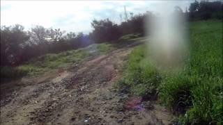 preview picture of video 'Mountain Bike Moguls, in the Oroklini Hills'