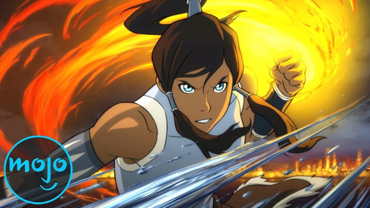 Aang Korra watchmojo | top 10 avatar the legend of aang/korra episodes