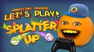 Annoying Orange Let's Play! - SPLATTER UP!