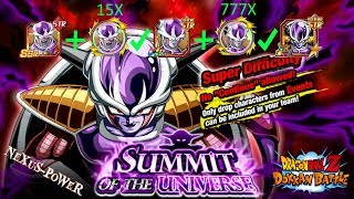 Teambuilds für das LR Frieza Event Summit of the Universe 🌟 DBZ Dokkan Battle