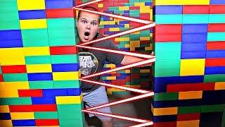 GIANT LEGO Escape Room!