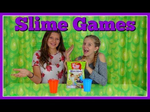 Download SLIME GAMES || SLIME CHALLENGE || Taylor and Vanessa