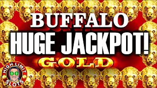 Buffalo Gold High Limit Jackpot Hard Rock  LAS VEGAS