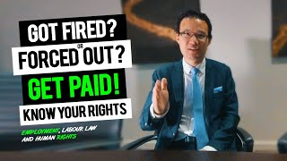 Got FIRED or QUIT? Know Your Rights and Get Paid!  Employment Law, Severance Pay [ Randy Ai ]