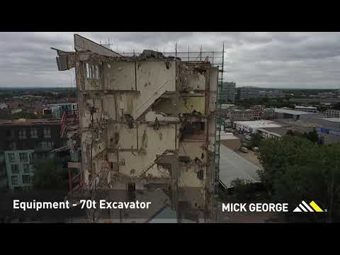 Mick George demolition job