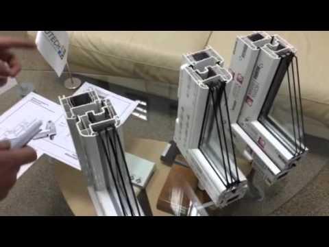 сравнение профильных систем Рехау Е70, Рехау Е70круглая створка, Рехау Бриллиант