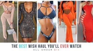 😍 THE BEST WISH HAUL EVER || ONLY $0.95-$14 😱