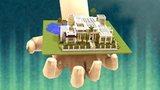 Minecraft   HOW TO MAKE THE WORLDS SMALLEST HOUSE IN MINECRAFT! (Tiny Big Craft)