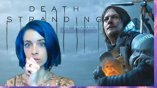 Norman Reedus and Team Fetus!! - Let's Play Death Stranding - 001 Prologue Reaction Playthrough