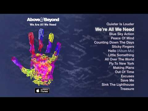 Above & Beyond - We're All We Need Feat. Zoë Johnston - Above & Beyond