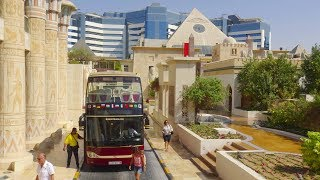 Dubai UAE City Tour by bus 4K