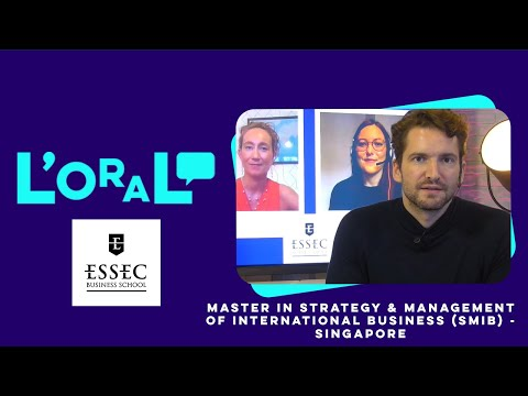 L'oral : MS Strategy and Management of International Business (Smib) Singapore