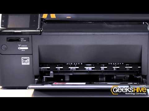 Impresora HP e-All in One Photosmart D110a - review by www.geekshive.com (Español)