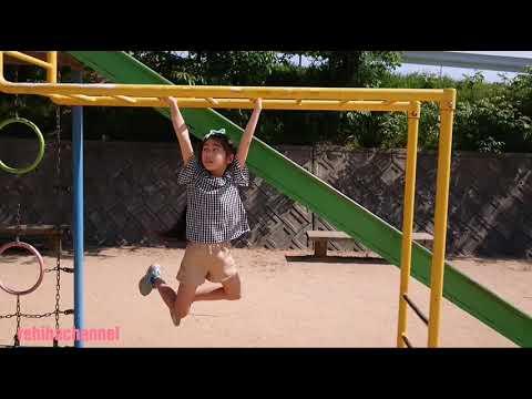 姉弟公園遊び【回転遊具】大好きな連続逆上がり【うんてい】れひはチャンネル