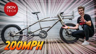 Can A Bicycle Go 200 MPH?! | GCN Tech Show Ep. 200!