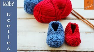 Baby Booties for absolute beginners - So Woolly
