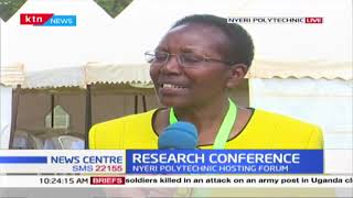 Nyeri national polytechnic hold its first  international conference