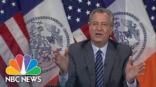 Blasio: High School Seniors To Be Celebrated With Virtual Graduation Ceremony | NBC News NOW