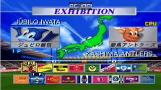 J.League Jikkyou Winning Eleven 3 _ Júbilo Iwata x Kashima Antlers - PlayStation (PS1)