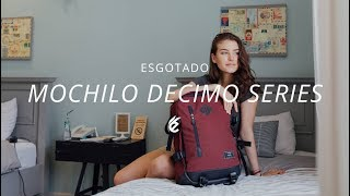 TAS RANSEL - BACKPACK BAG - MOCHILO DECIMO MAROON - ESGOTADO - TAS TRAVEL