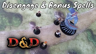 Disengage & Bonus Action Spells in Dungeons & Dragons 5E