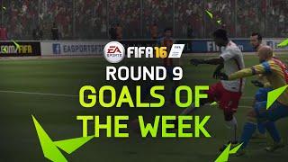 FIFA 16 - Best Goals Of The Week - Round 9